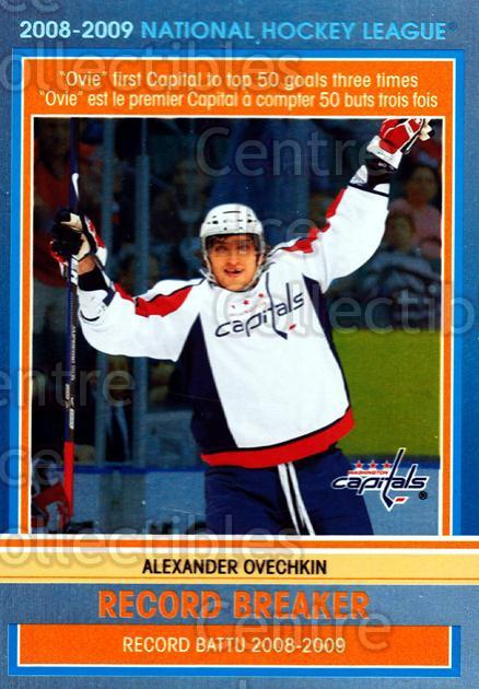 2009-10 O-pee-chee Record Breakers #2 Alexander Ovechkin<br/>1 In Stock - $3.00 each - <a href=https://centericecollectibles.foxycart.com/cart?name=2009-10%20O-pee-chee%20Record%20Breakers%20%232%20Alexander%20Ovech...&price=$3.00&code=650424 class=foxycart> Buy it now! </a>