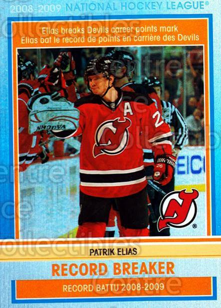 2009-10 O-pee-chee Record Breakers #4 Patrik Elias<br/>1 In Stock - $3.00 each - <a href=https://centericecollectibles.foxycart.com/cart?name=2009-10%20O-pee-chee%20Record%20Breakers%20%234%20Patrik%20Elias...&price=$3.00&code=650426 class=foxycart> Buy it now! </a>