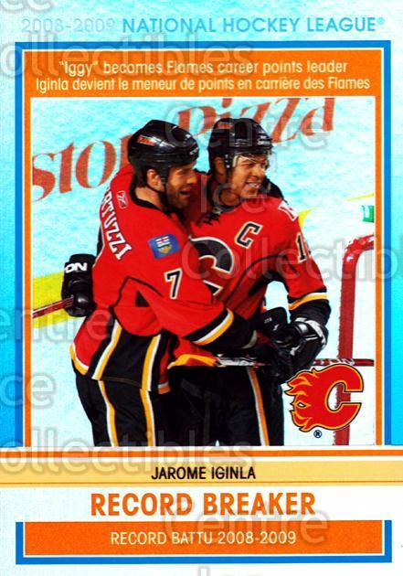 2009-10 O-pee-chee Record Breakers #5 Jarome Iginla<br/>2 In Stock - $3.00 each - <a href=https://centericecollectibles.foxycart.com/cart?name=2009-10%20O-pee-chee%20Record%20Breakers%20%235%20Jarome%20Iginla...&price=$3.00&code=650427 class=foxycart> Buy it now! </a>