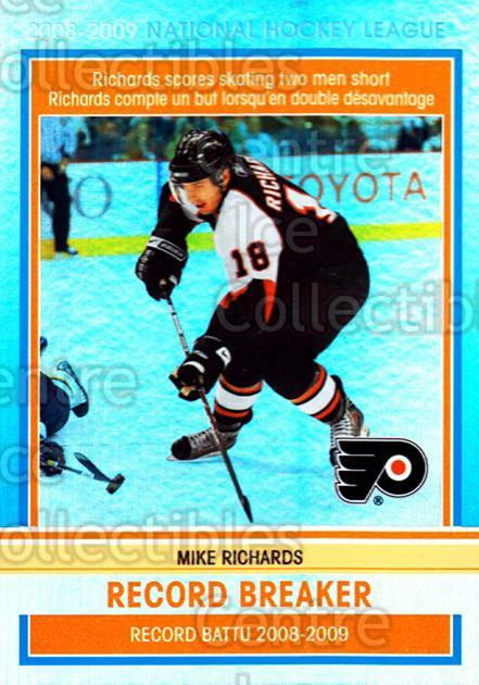 2009-10 O-pee-chee Record Breakers #10 Mike Richards<br/>1 In Stock - $3.00 each - <a href=https://centericecollectibles.foxycart.com/cart?name=2009-10%20O-pee-chee%20Record%20Breakers%20%2310%20Mike%20Richards...&price=$3.00&code=650432 class=foxycart> Buy it now! </a>