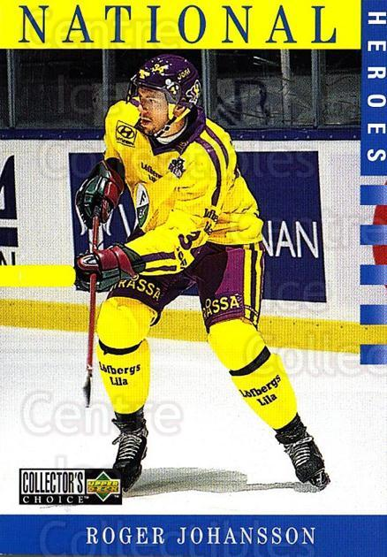 1997-98 Swedish Collectors Choice #206 Roger Johansson<br/>8 In Stock - $2.00 each - <a href=https://centericecollectibles.foxycart.com/cart?name=1997-98%20Swedish%20Collectors%20Choice%20%23206%20Roger%20Johansson...&quantity_max=8&price=$2.00&code=65045 class=foxycart> Buy it now! </a>