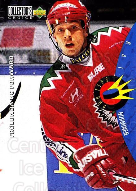 1997-98 Swedish Collectors Choice #211 Kai Nurminen<br/>8 In Stock - $2.00 each - <a href=https://centericecollectibles.foxycart.com/cart?name=1997-98%20Swedish%20Collectors%20Choice%20%23211%20Kai%20Nurminen...&quantity_max=8&price=$2.00&code=65050 class=foxycart> Buy it now! </a>