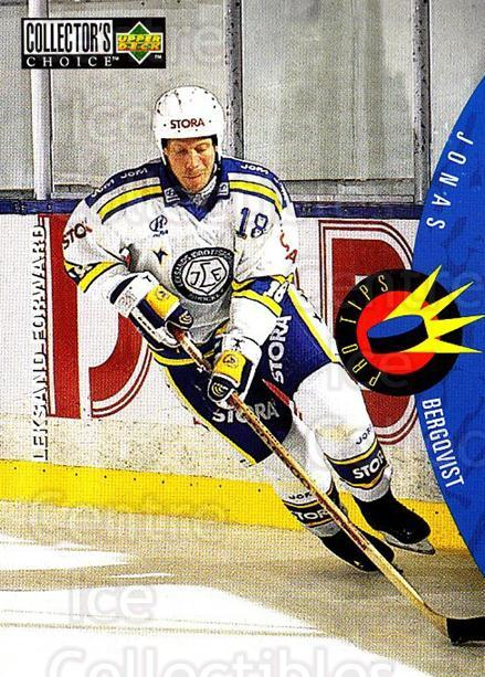 1997-98 Swedish Collectors Choice #221 Jonas Bergqvist<br/>2 In Stock - $2.00 each - <a href=https://centericecollectibles.foxycart.com/cart?name=1997-98%20Swedish%20Collectors%20Choice%20%23221%20Jonas%20Bergqvist...&quantity_max=2&price=$2.00&code=65060 class=foxycart> Buy it now! </a>