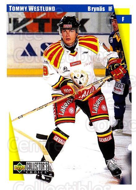 1997-98 Swedish Collectors Choice #23 Tommy Westlund<br/>5 In Stock - $2.00 each - <a href=https://centericecollectibles.foxycart.com/cart?name=1997-98%20Swedish%20Collectors%20Choice%20%2323%20Tommy%20Westlund...&quantity_max=5&price=$2.00&code=65064 class=foxycart> Buy it now! </a>