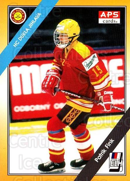 1994-95 Czech APS Extraliga #178 Patrik Fink<br/>11 In Stock - $2.00 each - <a href=https://centericecollectibles.foxycart.com/cart?name=1994-95%20Czech%20APS%20Extraliga%20%23178%20Patrik%20Fink...&quantity_max=11&price=$2.00&code=650 class=foxycart> Buy it now! </a>