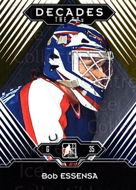 2013-14 ITG Decades 1990s Gold #33 Bob Essensa<br/>3 In Stock - $10.00 each - <a href=https://centericecollectibles.foxycart.com/cart?name=2013-14%20ITG%20Decades%201990s%20Gold%20%2333%20Bob%20Essensa...&quantity_max=3&price=$10.00&code=651525 class=foxycart> Buy it now! </a>