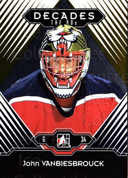 2013-14 ITG Decades 1990s Gold #82 John Vanbiesbrouck<br/>2 In Stock - $10.00 each - <a href=https://centericecollectibles.foxycart.com/cart?name=2013-14%20ITG%20Decades%201990s%20Gold%20%2382%20John%20Vanbiesbro...&quantity_max=2&price=$10.00&code=651574 class=foxycart> Buy it now! </a>