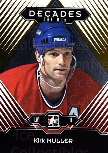 2013-14 ITG Decades 1990s Gold #90 Kirk Muller<br/>3 In Stock - $10.00 each - <a href=https://centericecollectibles.foxycart.com/cart?name=2013-14%20ITG%20Decades%201990s%20Gold%20%2390%20Kirk%20Muller...&quantity_max=3&price=$10.00&code=651582 class=foxycart> Buy it now! </a>