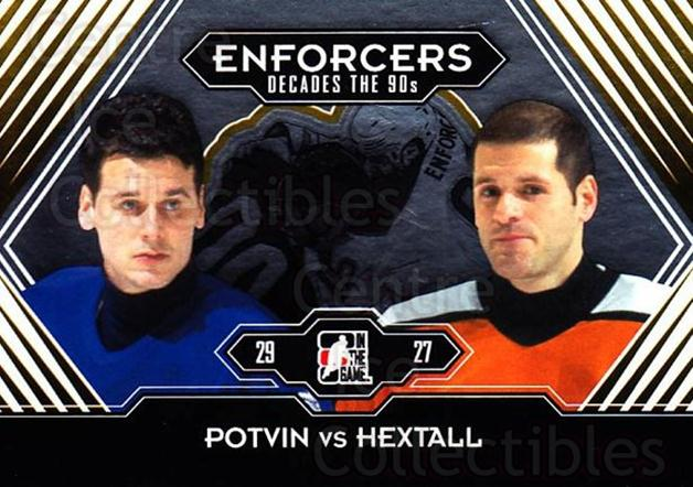 2013-14 ITG Decades 1990s Gold #187 Felix Potvin, Ron Hextall<br/>2 In Stock - $10.00 each - <a href=https://centericecollectibles.foxycart.com/cart?name=2013-14%20ITG%20Decades%201990s%20Gold%20%23187%20Felix%20Potvin,%20R...&quantity_max=2&price=$10.00&code=651679 class=foxycart> Buy it now! </a>