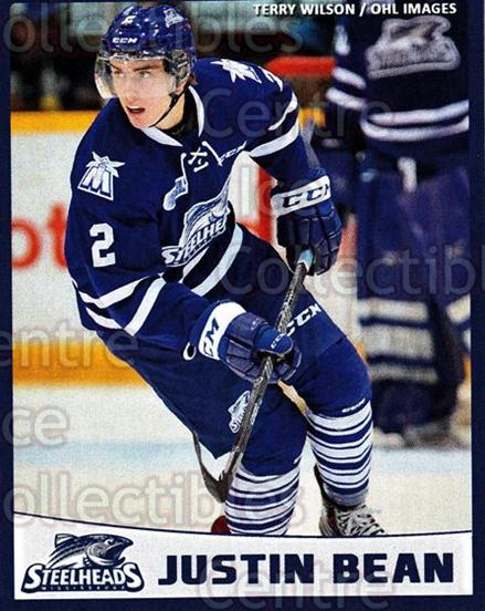 2014-15 Mississauga Steelheads #3 Justin Bean<br/>1 In Stock - $3.00 each - <a href=https://centericecollectibles.foxycart.com/cart?name=2014-15%20Mississauga%20Steelheads%20%233%20Justin%20Bean...&quantity_max=1&price=$3.00&code=651750 class=foxycart> Buy it now! </a>