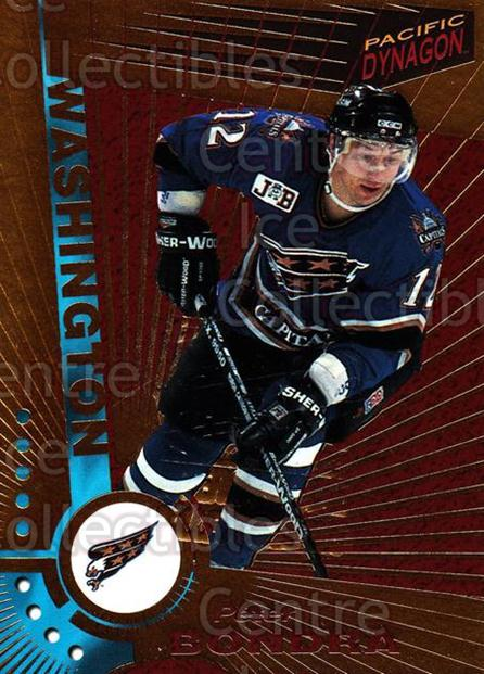 1997-98 Dynagon Montreal Embossed Redemption #130 Peter Bondra<br/>1 In Stock - $5.00 each - <a href=https://centericecollectibles.foxycart.com/cart?name=1997-98%20Dynagon%20Montreal%20Embossed%20Redemption%20%23130%20Peter%20Bondra...&quantity_max=1&price=$5.00&code=651900 class=foxycart> Buy it now! </a>