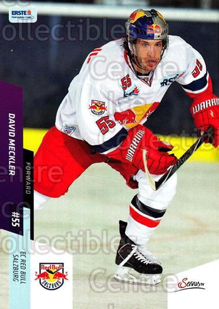 2014-15 Erste Bank Eishockey Liga EBEL #41 David Meckler<br/>3 In Stock - $2.00 each - <a href=https://centericecollectibles.foxycart.com/cart?name=2014-15%20Erste%20Bank%20Eishockey%20Liga%20EBEL%20%2341%20David%20Meckler...&quantity_max=3&price=$2.00&code=652064 class=foxycart> Buy it now! </a>