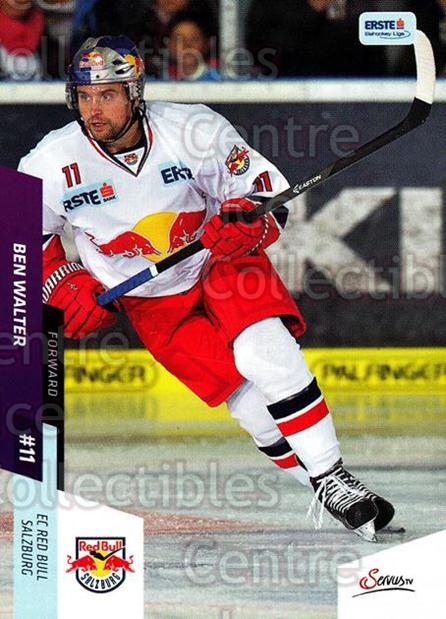 2014-15 Erste Bank Eishockey Liga EBEL #47 Ben Walter<br/>3 In Stock - $2.00 each - <a href=https://centericecollectibles.foxycart.com/cart?name=2014-15%20Erste%20Bank%20Eishockey%20Liga%20EBEL%20%2347%20Ben%20Walter...&quantity_max=3&price=$2.00&code=652070 class=foxycart> Buy it now! </a>