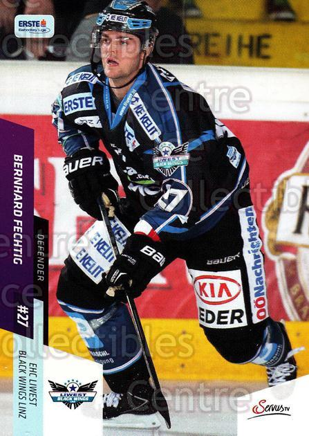 2014-15 Erste Bank Eishockey Liga EBEL #79 Bernhard Fechtig<br/>4 In Stock - $2.00 each - <a href=https://centericecollectibles.foxycart.com/cart?name=2014-15%20Erste%20Bank%20Eishockey%20Liga%20EBEL%20%2379%20Bernhard%20Fechti...&quantity_max=4&price=$2.00&code=652102 class=foxycart> Buy it now! </a>