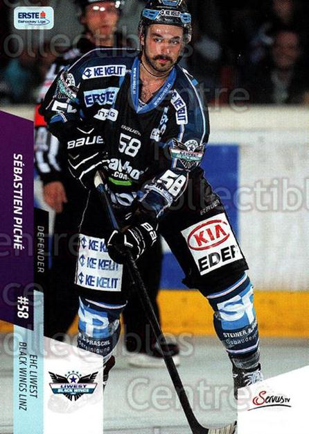 2014-15 Erste Bank Eishockey Liga EBEL #82 Sebastian Piche<br/>3 In Stock - $2.00 each - <a href=https://centericecollectibles.foxycart.com/cart?name=2014-15%20Erste%20Bank%20Eishockey%20Liga%20EBEL%20%2382%20Sebastian%20Piche...&quantity_max=3&price=$2.00&code=652105 class=foxycart> Buy it now! </a>