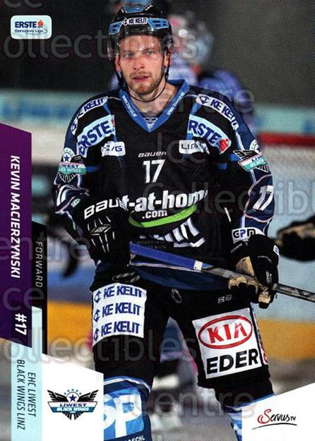 2014-15 Erste Bank Eishockey Liga EBEL #88 Kevin Macierzynski<br/>4 In Stock - $2.00 each - <a href=https://centericecollectibles.foxycart.com/cart?name=2014-15%20Erste%20Bank%20Eishockey%20Liga%20EBEL%20%2388%20Kevin%20Macierzyn...&quantity_max=4&price=$2.00&code=652111 class=foxycart> Buy it now! </a>
