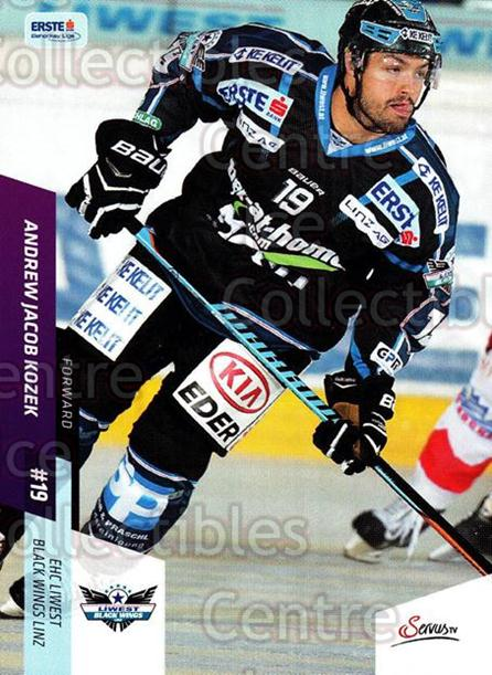 2014-15 Erste Bank Eishockey Liga EBEL #89 Andrew Jacob Kozek<br/>3 In Stock - $2.00 each - <a href=https://centericecollectibles.foxycart.com/cart?name=2014-15%20Erste%20Bank%20Eishockey%20Liga%20EBEL%20%2389%20Andrew%20Jacob%20Ko...&quantity_max=3&price=$2.00&code=652112 class=foxycart> Buy it now! </a>
