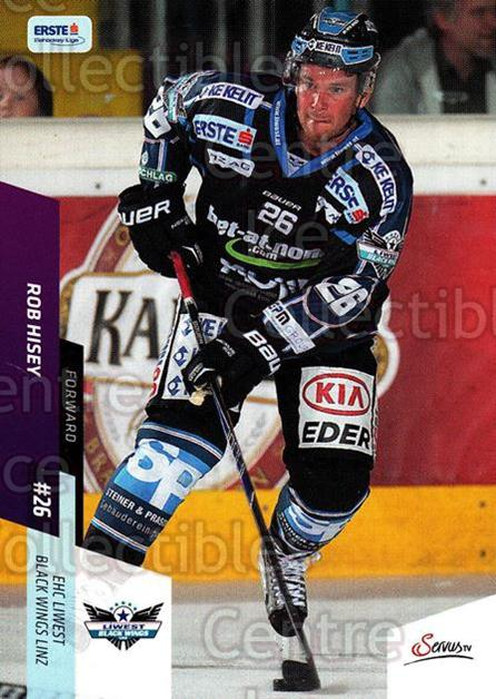 2014-15 Erste Bank Eishockey Liga EBEL #93 Rob Hisey<br/>3 In Stock - $2.00 each - <a href=https://centericecollectibles.foxycart.com/cart?name=2014-15%20Erste%20Bank%20Eishockey%20Liga%20EBEL%20%2393%20Rob%20Hisey...&quantity_max=3&price=$2.00&code=652116 class=foxycart> Buy it now! </a>