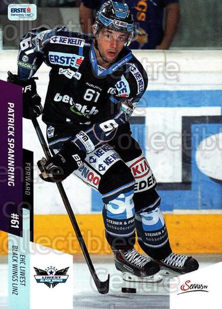2014-15 Erste Bank Eishockey Liga EBEL #94 Patrick Spannring<br/>4 In Stock - $2.00 each - <a href=https://centericecollectibles.foxycart.com/cart?name=2014-15%20Erste%20Bank%20Eishockey%20Liga%20EBEL%20%2394%20Patrick%20Spannri...&quantity_max=4&price=$2.00&code=652117 class=foxycart> Buy it now! </a>