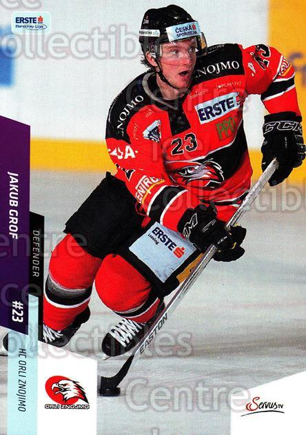 2014-15 Erste Bank Eishockey Liga EBEL #129 Jakub Grof<br/>4 In Stock - $2.00 each - <a href=https://centericecollectibles.foxycart.com/cart?name=2014-15%20Erste%20Bank%20Eishockey%20Liga%20EBEL%20%23129%20Jakub%20Grof...&quantity_max=4&price=$2.00&code=652152 class=foxycart> Buy it now! </a>