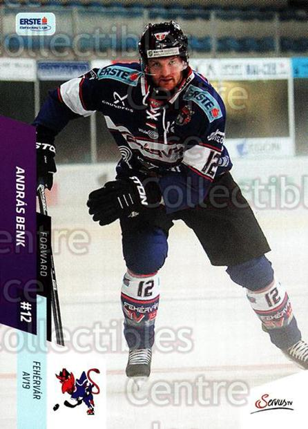 2014-15 Erste Bank Eishockey Liga EBEL #156 Andras Benk<br/>4 In Stock - $2.00 each - <a href=https://centericecollectibles.foxycart.com/cart?name=2014-15%20Erste%20Bank%20Eishockey%20Liga%20EBEL%20%23156%20Andras%20Benk...&quantity_max=4&price=$2.00&code=652179 class=foxycart> Buy it now! </a>