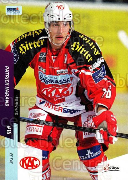 2014-15 Erste Bank Eishockey Liga EBEL #204 Patrick Harand<br/>4 In Stock - $2.00 each - <a href=https://centericecollectibles.foxycart.com/cart?name=2014-15%20Erste%20Bank%20Eishockey%20Liga%20EBEL%20%23204%20Patrick%20Harand...&quantity_max=4&price=$2.00&code=652227 class=foxycart> Buy it now! </a>