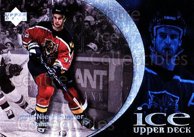 1997-98 UD Ice #14 Rob Niedermayer<br/>6 In Stock - $1.00 each - <a href=https://centericecollectibles.foxycart.com/cart?name=1997-98%20UD%20Ice%20%2314%20Rob%20Niedermayer...&quantity_max=6&price=$1.00&code=65225 class=foxycart> Buy it now! </a>