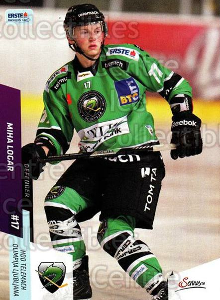 2014-15 Erste Bank Eishockey Liga EBEL #245 Miha Logar<br/>4 In Stock - $2.00 each - <a href=https://centericecollectibles.foxycart.com/cart?name=2014-15%20Erste%20Bank%20Eishockey%20Liga%20EBEL%20%23245%20Miha%20Logar...&quantity_max=4&price=$2.00&code=652268 class=foxycart> Buy it now! </a>