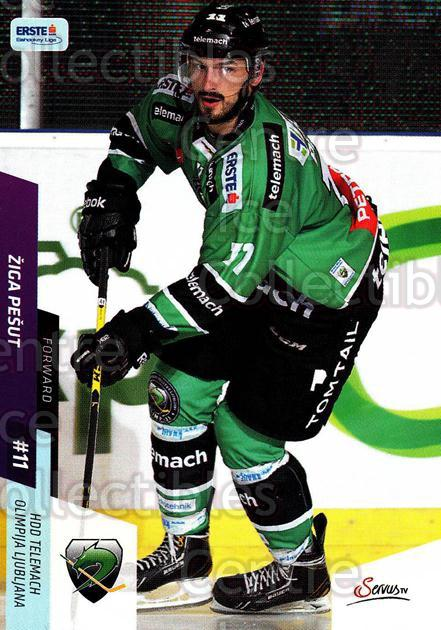 2014-15 Erste Bank Eishockey Liga EBEL #251 Ziga Pesut<br/>4 In Stock - $2.00 each - <a href=https://centericecollectibles.foxycart.com/cart?name=2014-15%20Erste%20Bank%20Eishockey%20Liga%20EBEL%20%23251%20Ziga%20Pesut...&quantity_max=4&price=$2.00&code=652274 class=foxycart> Buy it now! </a>