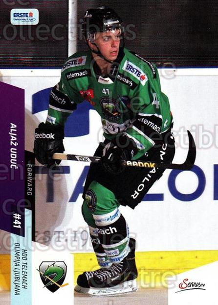 2014-15 Erste Bank Eishockey Liga EBEL #261 Aljaz Uduc<br/>4 In Stock - $2.00 each - <a href=https://centericecollectibles.foxycart.com/cart?name=2014-15%20Erste%20Bank%20Eishockey%20Liga%20EBEL%20%23261%20Aljaz%20Uduc...&quantity_max=4&price=$2.00&code=652284 class=foxycart> Buy it now! </a>