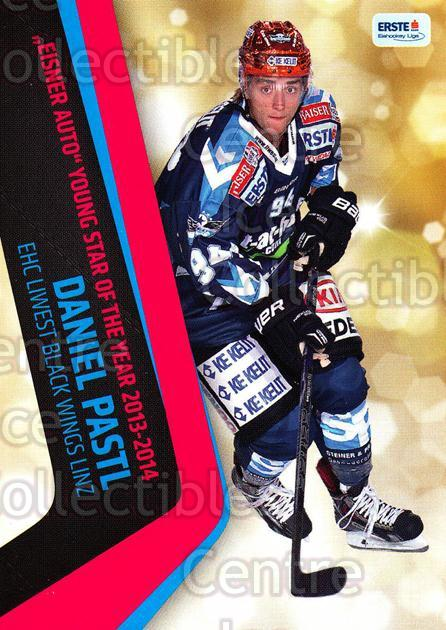 2014-15 Erste Bank Eishockey Liga EBEL #292 Daniel Pastl<br/>4 In Stock - $2.00 each - <a href=https://centericecollectibles.foxycart.com/cart?name=2014-15%20Erste%20Bank%20Eishockey%20Liga%20EBEL%20%23292%20Daniel%20Pastl...&quantity_max=4&price=$2.00&code=652315 class=foxycart> Buy it now! </a>