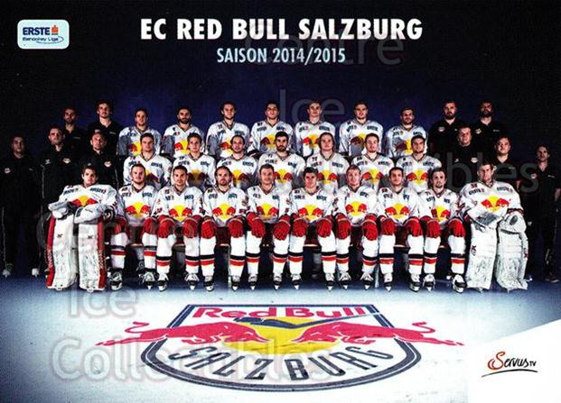2014-15 Erste Bank Eishockey Liga EBEL #295 Red Bull Salzburg<br/>4 In Stock - $2.00 each - <a href=https://centericecollectibles.foxycart.com/cart?name=2014-15%20Erste%20Bank%20Eishockey%20Liga%20EBEL%20%23295%20Red%20Bull%20Salzbu...&quantity_max=4&price=$2.00&code=652318 class=foxycart> Buy it now! </a>