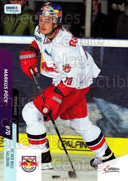2014-15 Erste Bank Eishockey Liga EBEL #302 Markus Pock<br/>4 In Stock - $2.00 each - <a href=https://centericecollectibles.foxycart.com/cart?name=2014-15%20Erste%20Bank%20Eishockey%20Liga%20EBEL%20%23302%20Markus%20Pock...&quantity_max=4&price=$2.00&code=652325 class=foxycart> Buy it now! </a>
