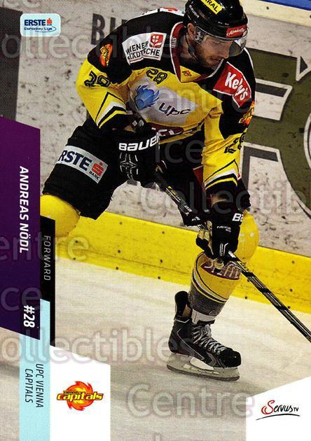 2014-15 Erste Bank Eishockey Liga EBEL #312 Andreas Nodl<br/>1 In Stock - $2.00 each - <a href=https://centericecollectibles.foxycart.com/cart?name=2014-15%20Erste%20Bank%20Eishockey%20Liga%20EBEL%20%23312%20Andreas%20Nodl...&quantity_max=1&price=$2.00&code=652335 class=foxycart> Buy it now! </a>