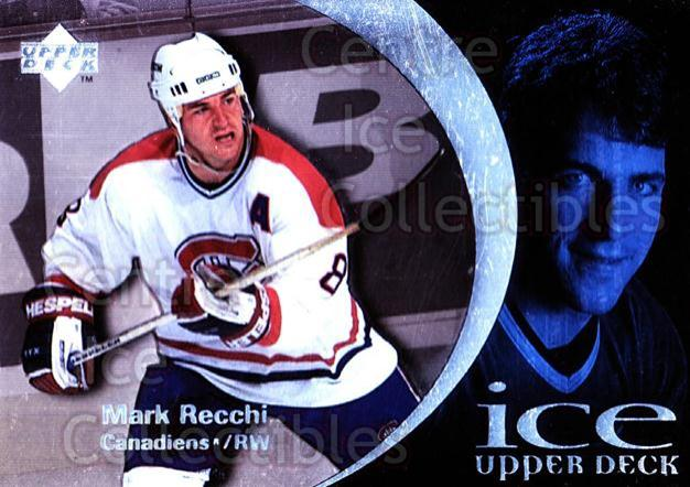 1997-98 UD Ice #23 Mark Recchi<br/>5 In Stock - $1.00 each - <a href=https://centericecollectibles.foxycart.com/cart?name=1997-98%20UD%20Ice%20%2323%20Mark%20Recchi...&quantity_max=5&price=$1.00&code=65234 class=foxycart> Buy it now! </a>
