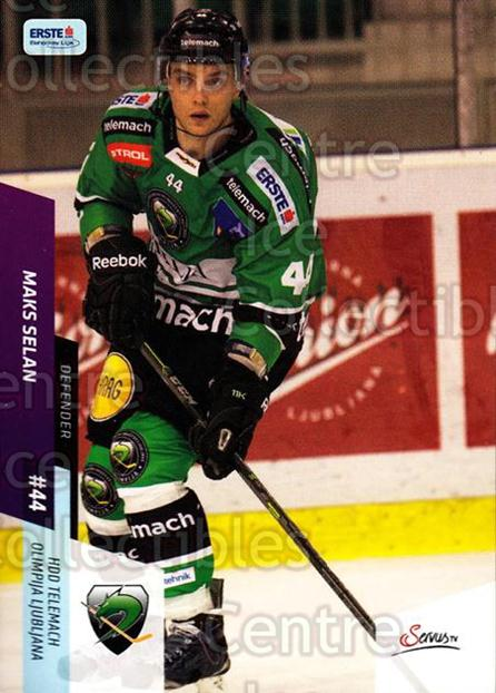 2014-15 Erste Bank Eishockey Liga EBEL #354 Maks Selan<br/>3 In Stock - $2.00 each - <a href=https://centericecollectibles.foxycart.com/cart?name=2014-15%20Erste%20Bank%20Eishockey%20Liga%20EBEL%20%23354%20Maks%20Selan...&quantity_max=3&price=$2.00&code=652377 class=foxycart> Buy it now! </a>