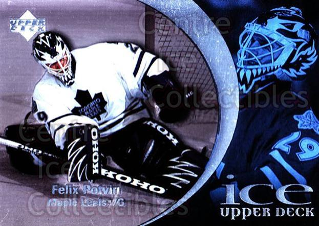 1997-98 UD Ice #29 Felix Potvin<br/>3 In Stock - $1.00 each - <a href=https://centericecollectibles.foxycart.com/cart?name=1997-98%20UD%20Ice%20%2329%20Felix%20Potvin...&quantity_max=3&price=$1.00&code=65240 class=foxycart> Buy it now! </a>