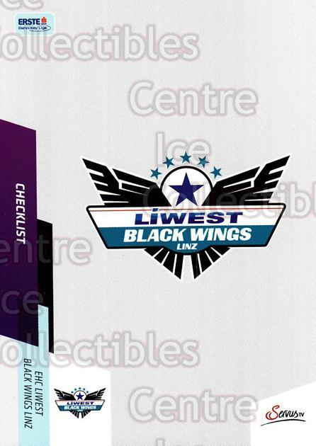 2014-15 Erste Bank Eishockey Liga EBEL #388 Checklist, EHC Liwest Black Wings Linz<br/>4 In Stock - $2.00 each - <a href=https://centericecollectibles.foxycart.com/cart?name=2014-15%20Erste%20Bank%20Eishockey%20Liga%20EBEL%20%23388%20Checklist,%20EHC%20...&quantity_max=4&price=$2.00&code=652411 class=foxycart> Buy it now! </a>