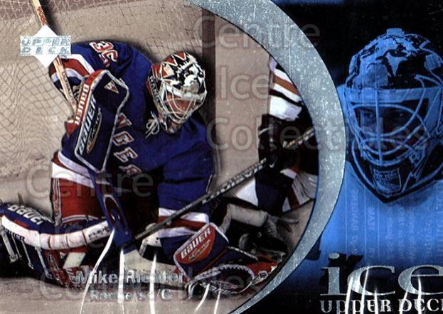 1997-98 UD Ice #3 Mike Richter<br/>5 In Stock - $1.00 each - <a href=https://centericecollectibles.foxycart.com/cart?name=1997-98%20UD%20Ice%20%233%20Mike%20Richter...&quantity_max=5&price=$1.00&code=65241 class=foxycart> Buy it now! </a>