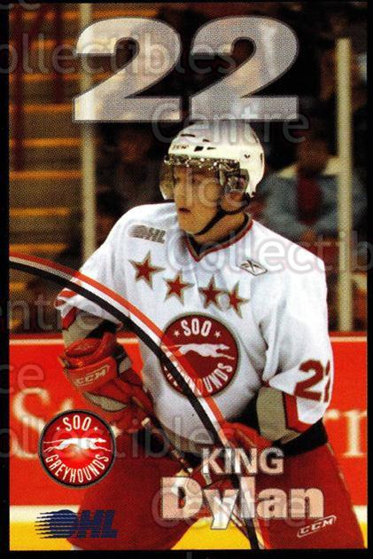 2007-08 Sault Ste. Marie Greyhounds #12 Dylan King<br/>3 In Stock - $3.00 each - <a href=https://centericecollectibles.foxycart.com/cart?name=2007-08%20Sault%20Ste.%20Marie%20Greyhounds%20%2312%20Dylan%20King...&quantity_max=3&price=$3.00&code=652446 class=foxycart> Buy it now! </a>