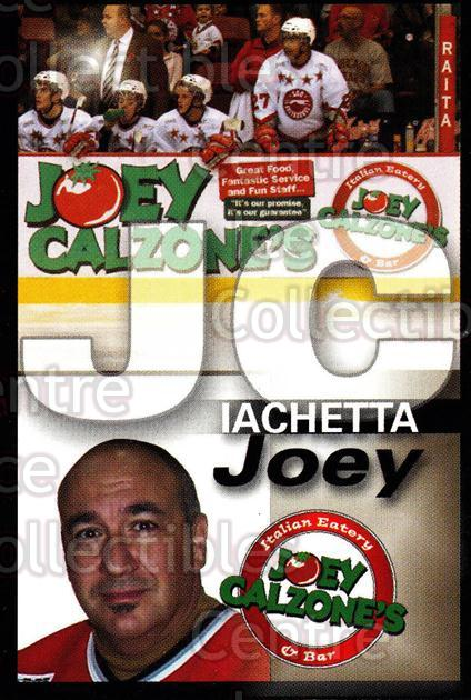 2007-08 Sault Ste. Marie Greyhounds #30 Joey Iachetta<br/>4 In Stock - $3.00 each - <a href=https://centericecollectibles.foxycart.com/cart?name=2007-08%20Sault%20Ste.%20Marie%20Greyhounds%20%2330%20Joey%20Iachetta...&quantity_max=4&price=$3.00&code=652464 class=foxycart> Buy it now! </a>
