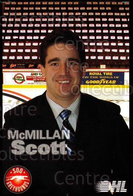 2007-08 Sault Ste. Marie Greyhounds #31 Scott McMillan<br/>3 In Stock - $3.00 each - <a href=https://centericecollectibles.foxycart.com/cart?name=2007-08%20Sault%20Ste.%20Marie%20Greyhounds%20%2331%20Scott%20McMillan...&quantity_max=3&price=$3.00&code=652465 class=foxycart> Buy it now! </a>