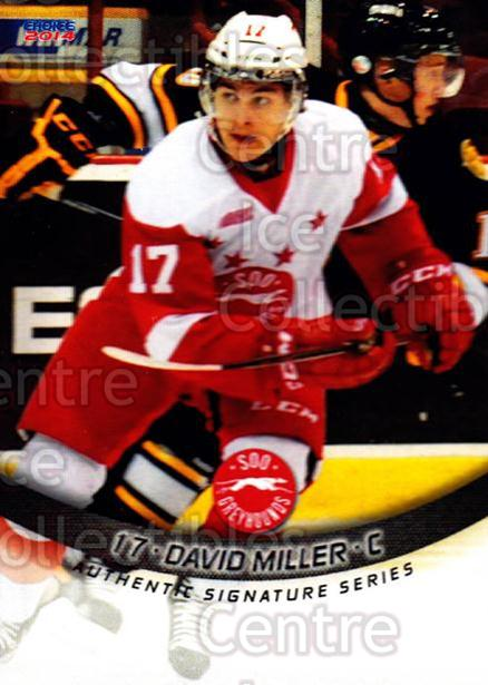 2013-14 Sault Ste. Marie Greyhounds #7 David Miller<br/>3 In Stock - $3.00 each - <a href=https://centericecollectibles.foxycart.com/cart?name=2013-14%20Sault%20Ste.%20Marie%20Greyhounds%20%237%20David%20Miller...&quantity_max=3&price=$3.00&code=652501 class=foxycart> Buy it now! </a>