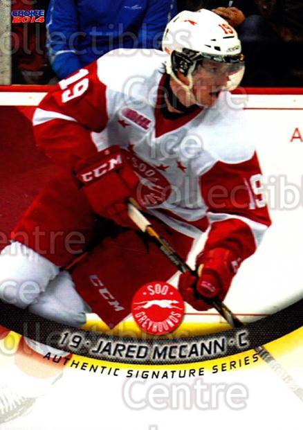 2013-14 Sault Ste. Marie Greyhounds #9 Jared McCann<br/>2 In Stock - $3.00 each - <a href=https://centericecollectibles.foxycart.com/cart?name=2013-14%20Sault%20Ste.%20Marie%20Greyhounds%20%239%20Jared%20McCann...&price=$3.00&code=652503 class=foxycart> Buy it now! </a>