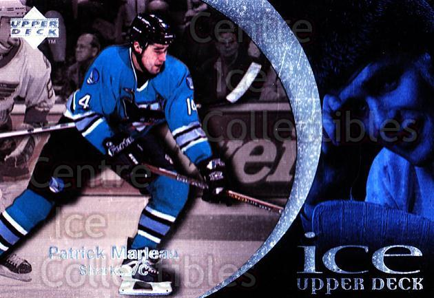 1997-98 UD Ice #41 Patrick Marleau<br/>4 In Stock - $1.00 each - <a href=https://centericecollectibles.foxycart.com/cart?name=1997-98%20UD%20Ice%20%2341%20Patrick%20Marleau...&quantity_max=4&price=$1.00&code=65254 class=foxycart> Buy it now! </a>