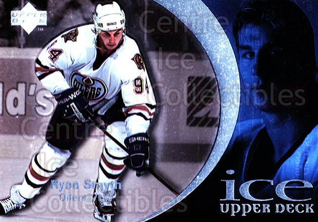 1997-98 UD Ice #6 Ryan Smyth<br/>6 In Stock - $1.00 each - <a href=https://centericecollectibles.foxycart.com/cart?name=1997-98%20UD%20Ice%20%236%20Ryan%20Smyth...&quantity_max=6&price=$1.00&code=65271 class=foxycart> Buy it now! </a>
