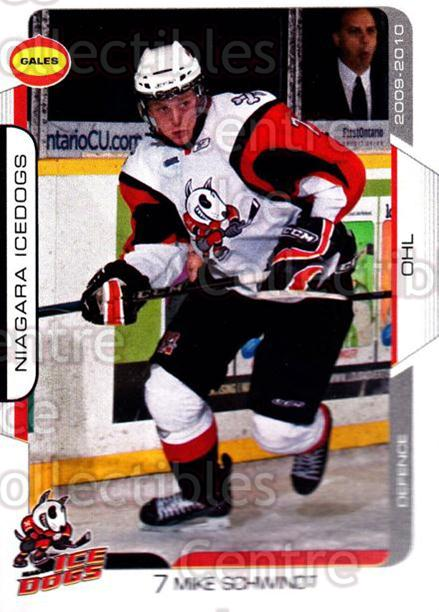 2009-10 Niagara IceDogs #4 Mike Schwindt<br/>2 In Stock - $3.00 each - <a href=https://centericecollectibles.foxycart.com/cart?name=2009-10%20Niagara%20IceDogs%20%234%20Mike%20Schwindt...&price=$3.00&code=652767 class=foxycart> Buy it now! </a>