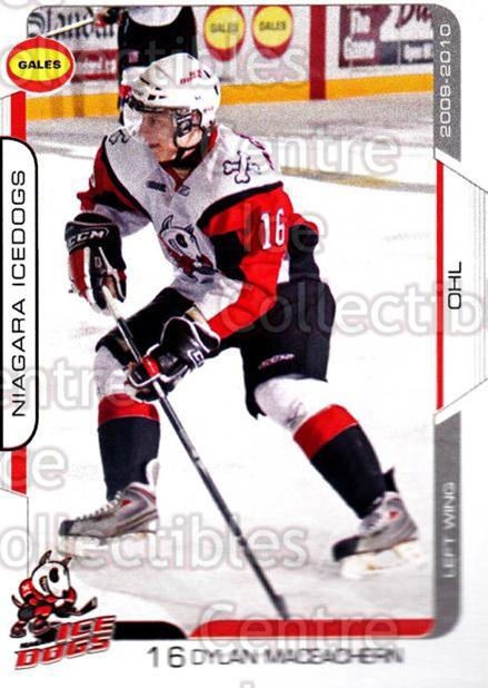 2009-10 Niagara IceDogs #12 Dylan MacEachern<br/>2 In Stock - $3.00 each - <a href=https://centericecollectibles.foxycart.com/cart?name=2009-10%20Niagara%20IceDogs%20%2312%20Dylan%20MacEacher...&price=$3.00&code=652775 class=foxycart> Buy it now! </a>