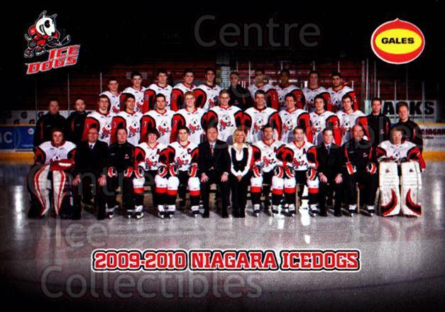 2009-10 Niagara IceDogs #25 Team Photo, Checklist<br/>2 In Stock - $3.00 each - <a href=https://centericecollectibles.foxycart.com/cart?name=2009-10%20Niagara%20IceDogs%20%2325%20Team%20Photo,%20Che...&price=$3.00&code=652788 class=foxycart> Buy it now! </a>