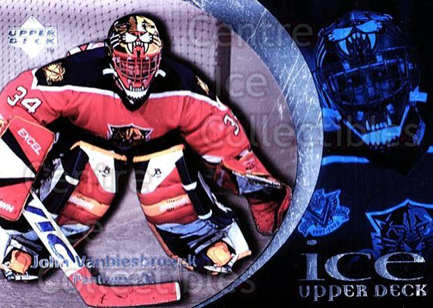 1997-98 UD Ice #74 John Vanbiesbrouck<br/>3 In Stock - $1.00 each - <a href=https://centericecollectibles.foxycart.com/cart?name=1997-98%20UD%20Ice%20%2374%20John%20Vanbiesbro...&quantity_max=3&price=$1.00&code=65281 class=foxycart> Buy it now! </a>